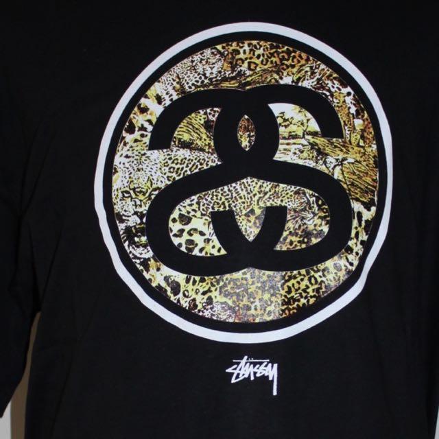 New Stussy Black T-shirt