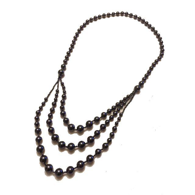 Obsidian Necklace 黑曜石頸鍵