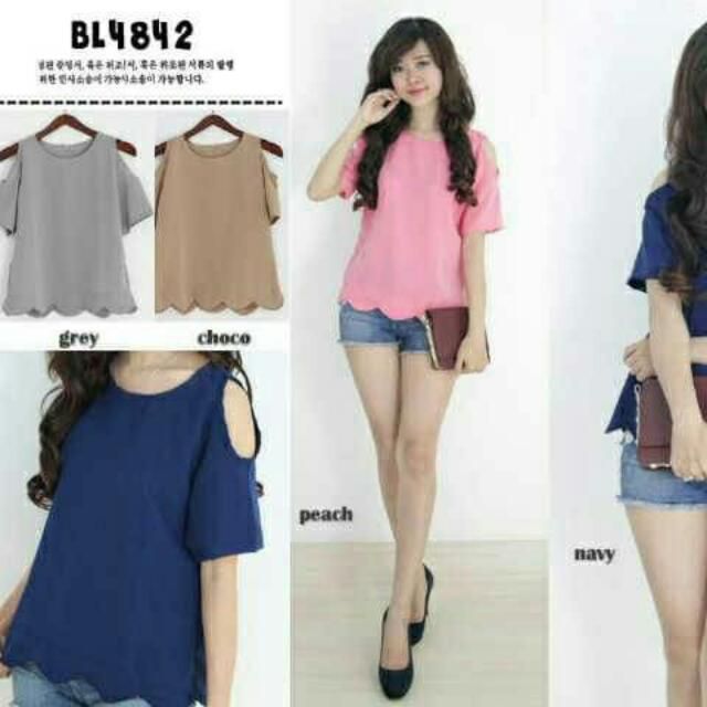 OFF SHOULDER TOP BL4842