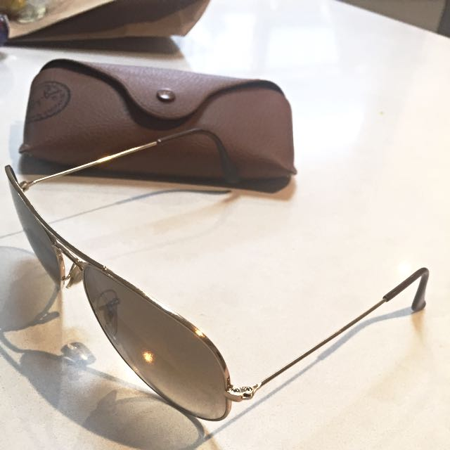 Ray Ban Aviator Sunglasses - Large