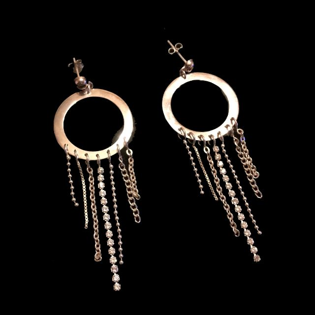 Silver Earrings 純銀耳環