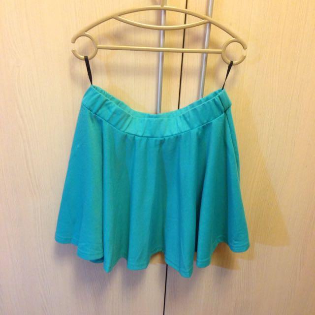 Tiffany綠韓風膝上裙(含運)