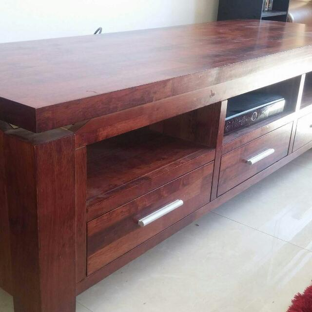 T.v Unit Solid Wood