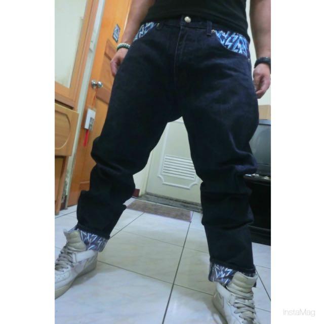 Walux閃電牛仔褲