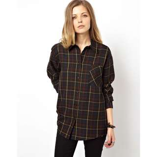 ASOS Vintage Reclaimed Checker Shirt