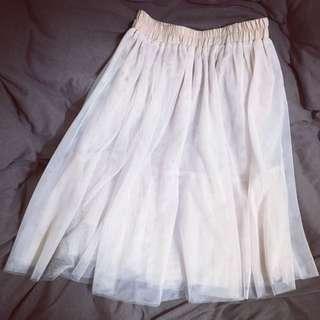 淘寶裸色家紗裙60cm裸色