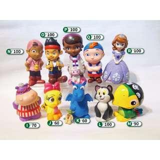 Disney 迪士尼 歐版/美版 大型軟膠公仔 - 傑克與夢幻島 貓 洗澡玩具