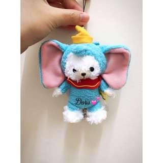 大學熊 小飛象 吊飾 變裝 Unibearsity Duffy