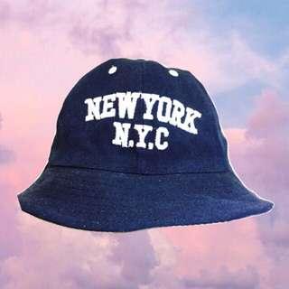 ♡漁夫帽♡ 深藍 藏青