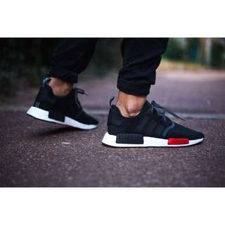 NMD 黑紅 FOOTLOCKER 限定版
