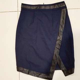 Preloved Navy Blue Skirt