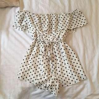 Polka Dot Play suit