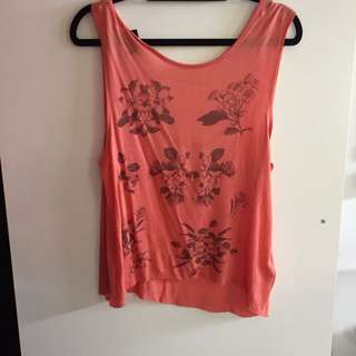 Low Back Top size 6-10