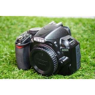 (免運)Nikon D3100 數位單眼相機 單機身不含鏡頭 SONY CANON 可參考