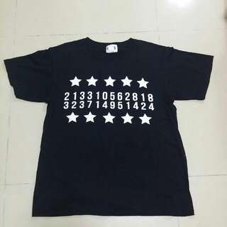 BN Homme+Femme Numbers Tshirt - Clearance
