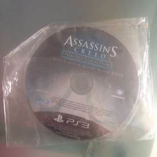 Assassins Creed Heritage Collection w/o Casing PS3