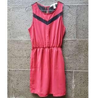 Preloved F21 Red Dress