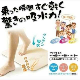 日本🇯🇵硅藻土腳踏墊