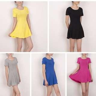 Modal fabric dress