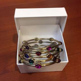 H&M 多層次寶石手環