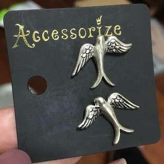 全新 Accesorize飛鳥耳環