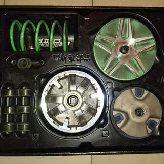 賣傳動組,改裝半套,原廠碗公組,方向燈組,照後鏡