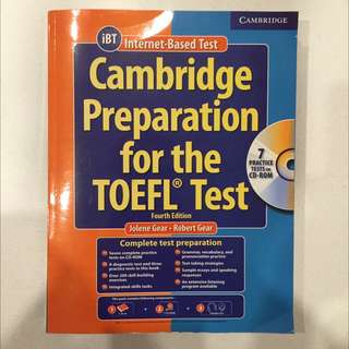Cambridge Preperation For The TOEFL Test