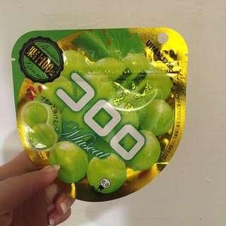日本果汁100%葡萄軟糖