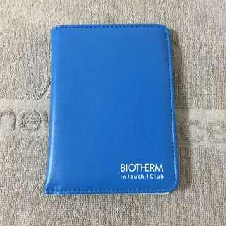 含運費~BIOTHERM護照筆記夾(品牌贈品)