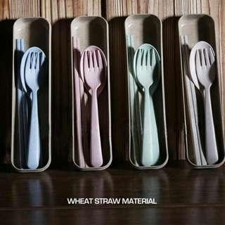 小麥環保餐具