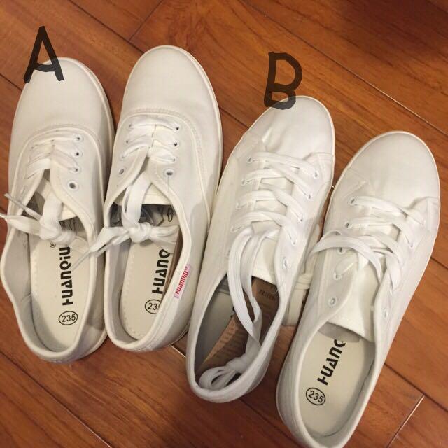 春夏穿不膩超好穿好搭帆布小白鞋兩款 現貨+預購