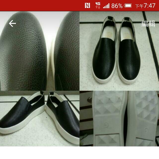 九成新皮革懶人鞋#五百元好女鞋