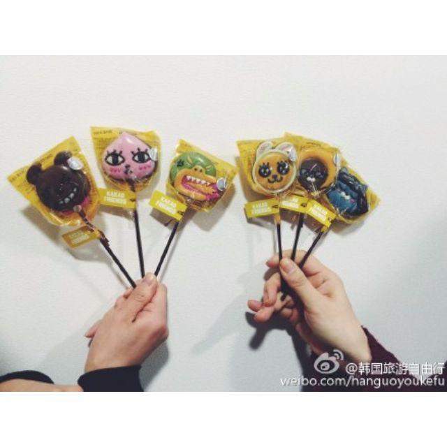 韓國代購 正韓連線 KAKAO 棒棒糖 RYAN BTS