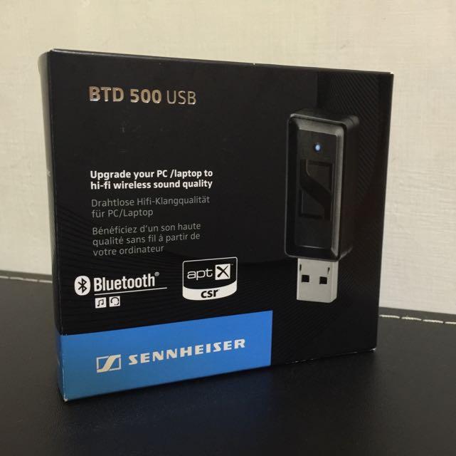 聲海 Sennheiser BTD 500 藍牙接收器 全新