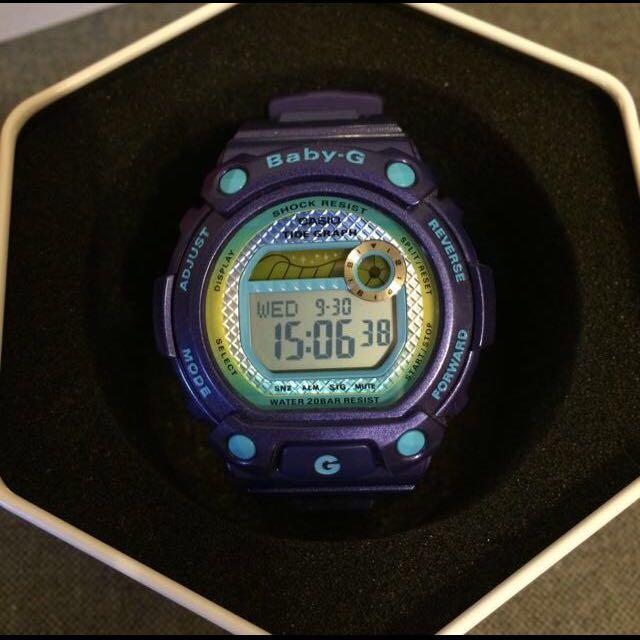 Baby-G BLX-100 繽紛手錶少女時代 寶藍