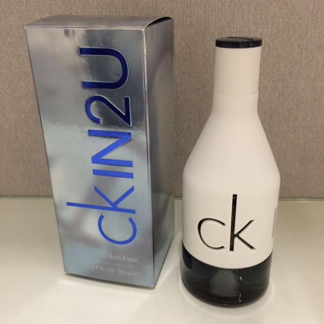 Calvin Klein Ckin2u 男生香水 50ml #旋轉美妝跳樓大拍賣