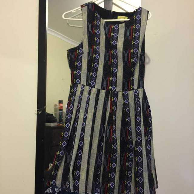 Cotton Patterned Dress