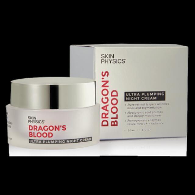 Dragons Blood Plumping Night Cream