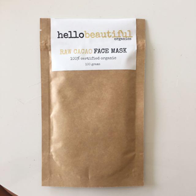 HelloBeautifu Raw Cacao Face Mask