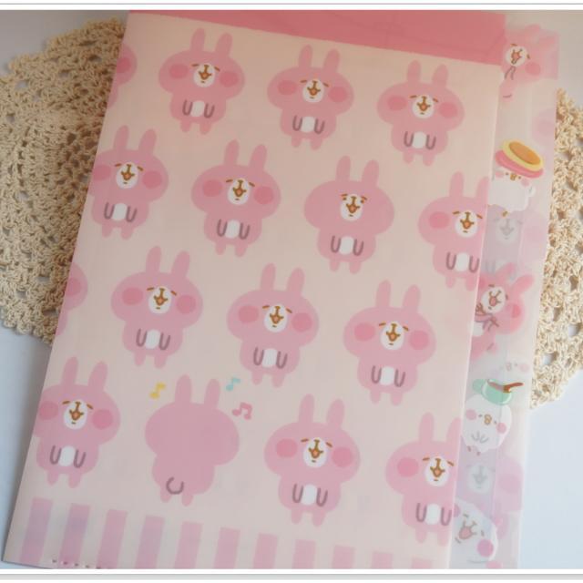 ❀日貨❀Kanahei小動物A4文件夾-粉色