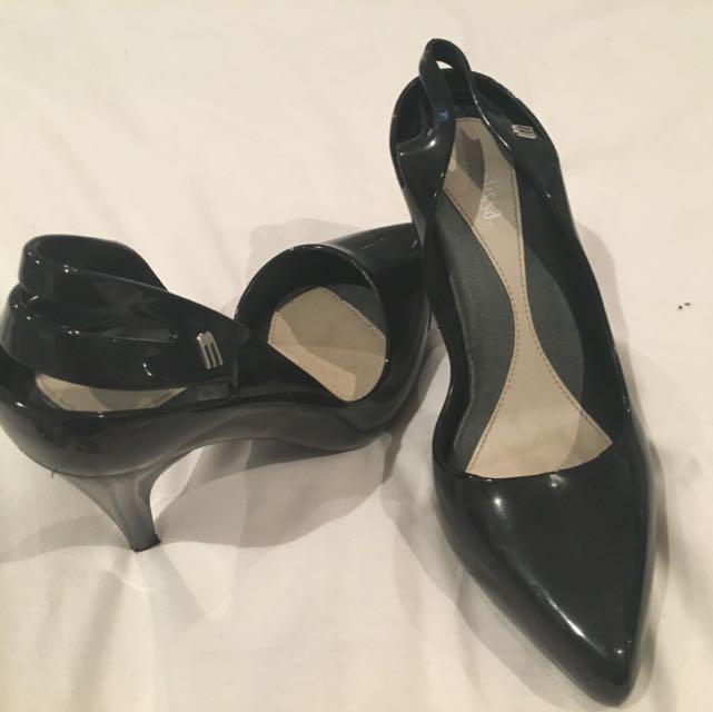Melissa Black Heels