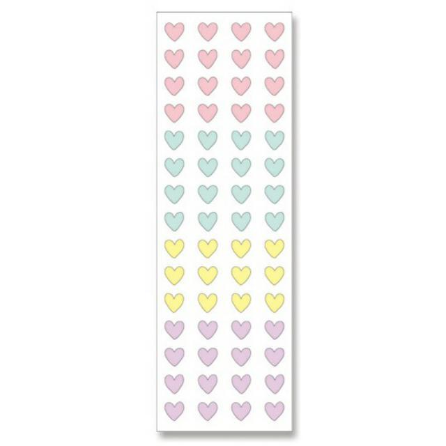 ❀日貨❀MIND WAVE SEALS手帳貼紙 紙膠帶材質-柔和4色愛心