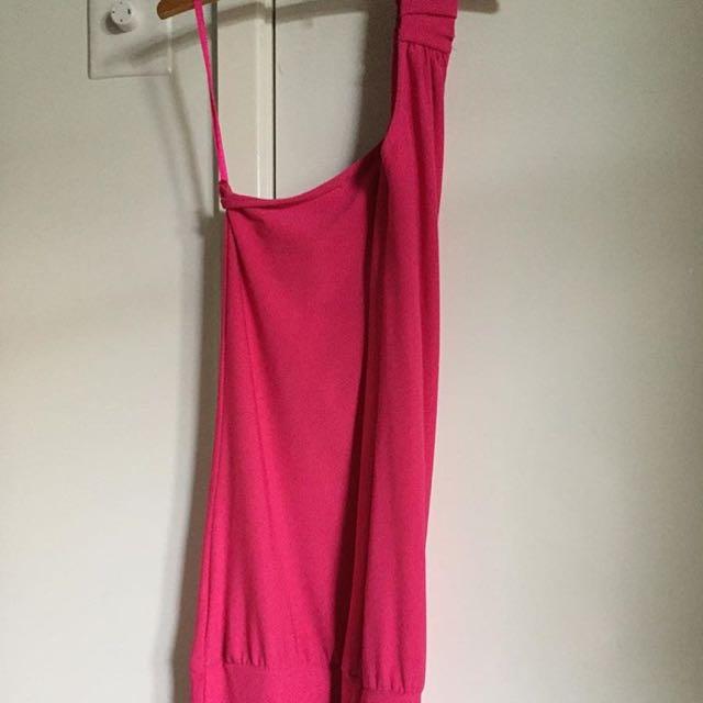 Pink Tight Dress