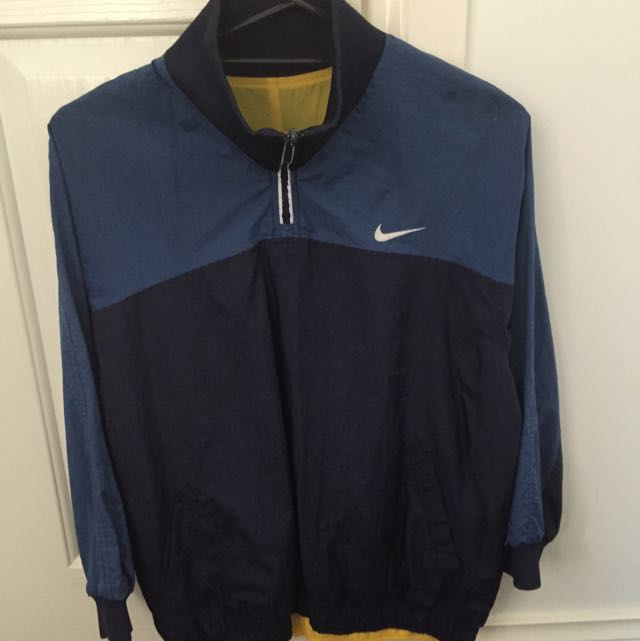 Vintage Nike 3/4 Zip Spray Jacket