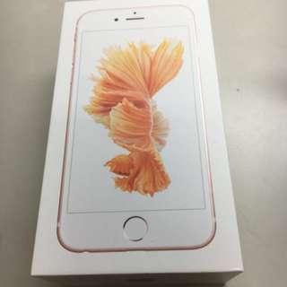 Iphone6s   64g玫瑰金買一個禮拜將近全新