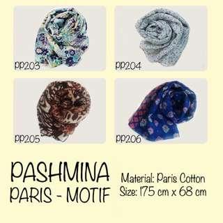 Pashmina Paris Motif