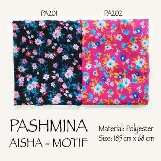 Pashmina Aisha Motif Bunga