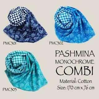 Pashmina Monochrome Combi