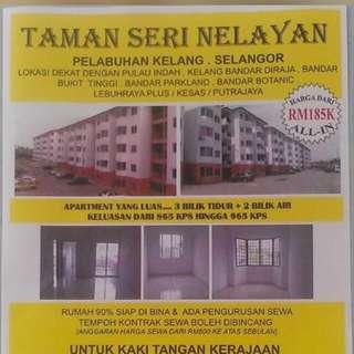 Apartment Seri Nelayan Telok Gong Klang
