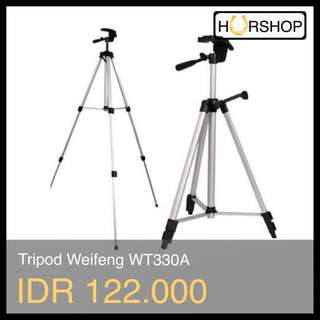 Tripod Aluminum Weifeng WT330A For Camdig Smartphone Camera Kamera Dslr Slr Action Cam